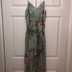 Blue floral Alice + Olivia dress